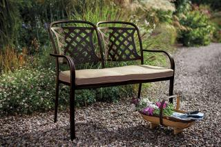 Hartman Berkeley Bench - Metal Garden Furniture