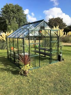 Vitavia Phoenix 9900 Greenhouse in Green