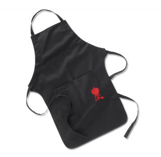 Weber Apron - Black With Kettle Design