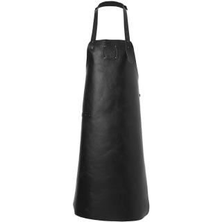 Witloft Leather Apron - Pure Black