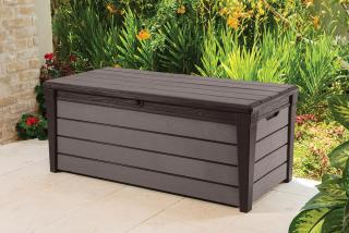 This medium sized storage box is ideal for storing cushions, garden and pool supplies.