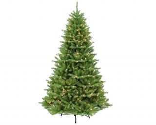 6ft Pre-lit Blufton Fir Artificial Christmas Tree