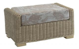 The refined Burford Footstool would sit elegantly in any conservatory.
