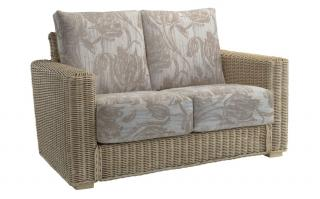 The refined Burford Two Seater Sofa would sit elegantly in any conservatory.