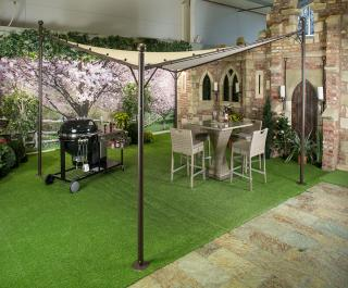 This great Butterfly Gazebo is fantastic for providing shade when required.