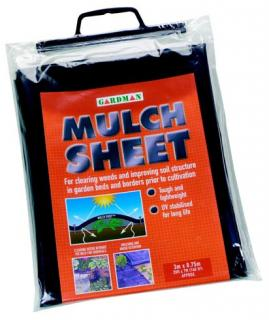 Mulch Sheet is designed for clearing weeds and improving soil structure in garden beds and borders prior to cultivation.