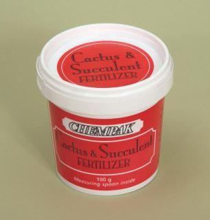 Chempak Cactus & Succulent Fertiliser (100g).
