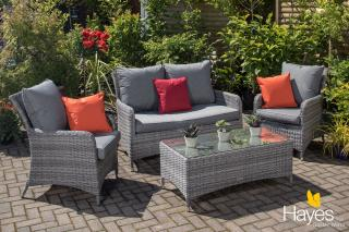 Cambridge Lounge Set - Weave Garden Furniture