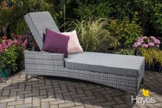 Cambridge Lounger - Weave Garden Furniture