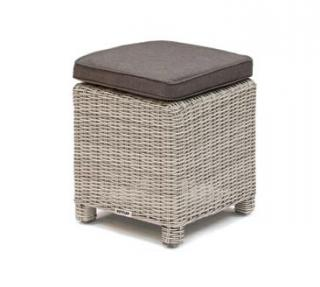 Kettler Palma Casual Stool in White Wash