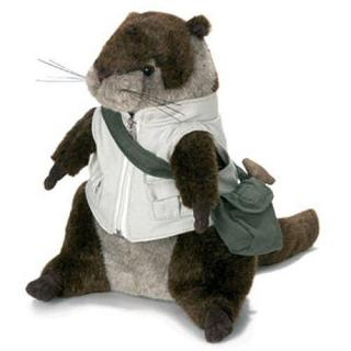Oscar Otter would make a great traditionally designed doorstop gift. Code CF08.
