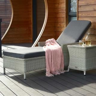 Bramblecrest Chatsworth Lounger and Side Table