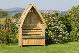 Cheltenham Arbour with Storage Box