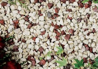 Crimson & Cream 10-20mm Bulk Bag Aggregate