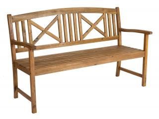 Alexander Rose 5ft Cross Back Bench
