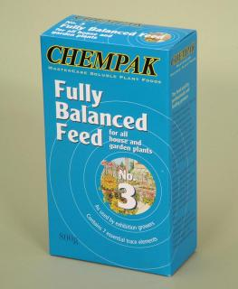 Chempak Fully Balanced Feed - Formula 3