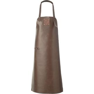 Witloft Leather Apron - Dark Brown