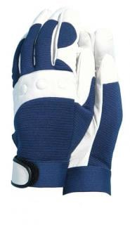 These gloves are soft and supple with an elasticated wrist.