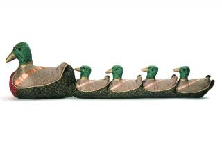 Maisy's Ducklings Draught Excluder would make a decorative traditionally designed gift. Code DE107.
