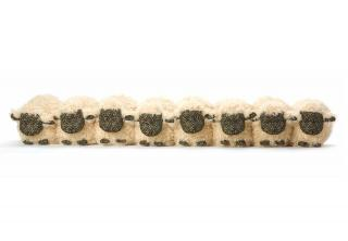 This flock of sheep Draught Excluder would make a practical & fun, traditionally designed gift. Code DE34.