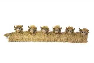Angus Senior Draught Excluder would make a practical traditionally designed gift. Code DE97.