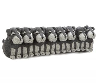 This Schnauzer family Draught Excluder would make a practical & fun gift for dog lovers. Code DEND20.