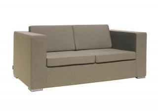 Westminster Code DESE201. A comfortable all weather lounge settee in taupe with quick dry foam.