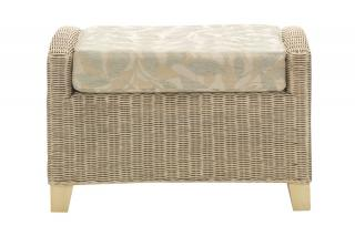 The timeless classic Dijon Footstool would compliment most interiors.