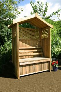The Dorset Arbour will create a focal point in any garden.