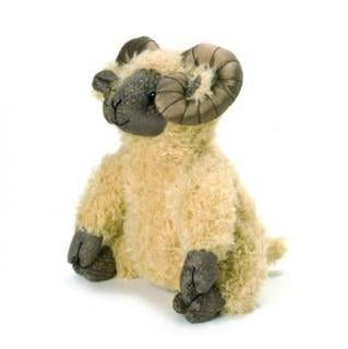 Aaron Ram Doorstop would make a great traditionally designed gift. Code DS151.