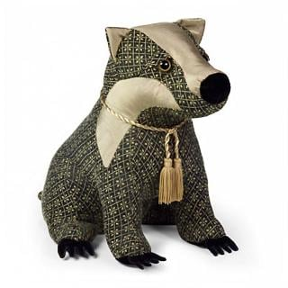 Brockwell Badger would make a great traditionally designed doorstop gift. Code DS169.
