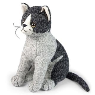 This grey coloured boucle cat Doorstop would make a great gift for a cat lover. Code DSC03C.