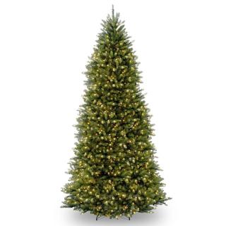 18ft Pre-lit Dunhill Fir Artificial Christmas Tree