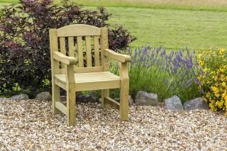 The Emily Chair is ideal for the smaller garden.