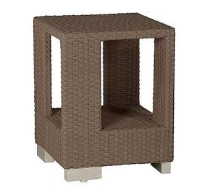 Barlow Tyrie Code 601662. The Arizona 47cm Side Table is a great accessory for the Arizona Range.