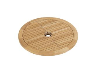 Barlow Tyrie Equinox 70cm Round Lazy Susan with Teak Top