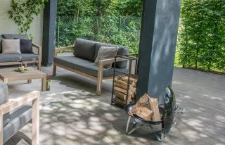 4 Seasons Outdoor Evora Teak Lounge Set