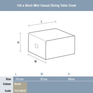 Bramblecrest Mini Casual Dining Table Cover