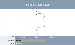 The Bramblecrest Single Hanging Cocoon Cover will give full winter protection.  Code FCHC1K.