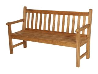 The classic Barlow Tyrie Felstead 150cm Teak Bench is of solid build with generous seating.