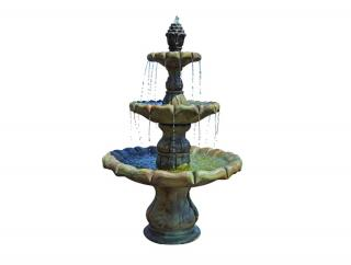 Kelkay Henri Classical Finial 3 Tier Fountain
