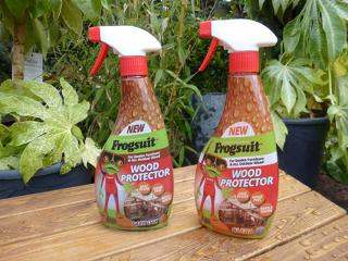 The fabulous Frogsuit Oil Treatment is ideal for protecting and nourishing your garden furniture
