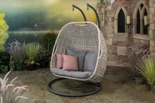 Supremo Double Hanging Cocoon with Cushions
