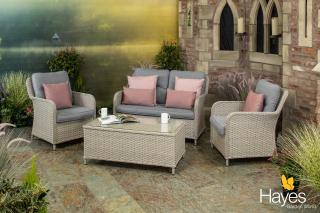 The elegant Supremo Genoa Lounge Set will appeal for many settings and will make a welcoming scene for yourself and guests.