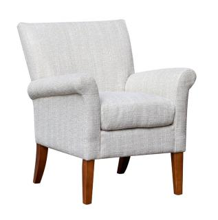 Global Alliance Furniture Balmoral Accent Chair in Natural