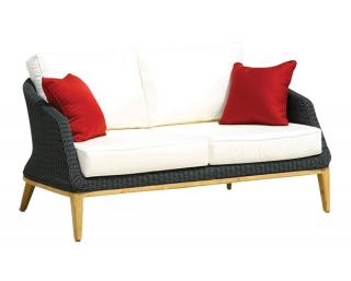 Westminster Grace 2 Seater Sofa in Ebony