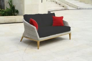Westminster Grace 2 Seater Sofa in Platinum/Slate
