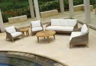 Westminster Grace 3 Seater Sofa Set in Sand