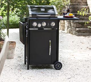 The robust OutdoorChef Hamilton 3+G Gas Barbeque is fantastic for the connoisseur of BBQ cooking.