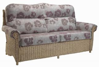 The contemporary Harlow Three Seater Sofa would sit elegantly in any conservatory.